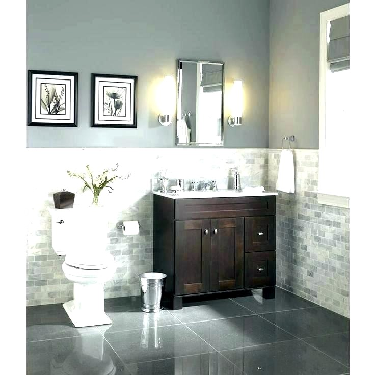 Bathroom Wall Colors With Brown Cabinets