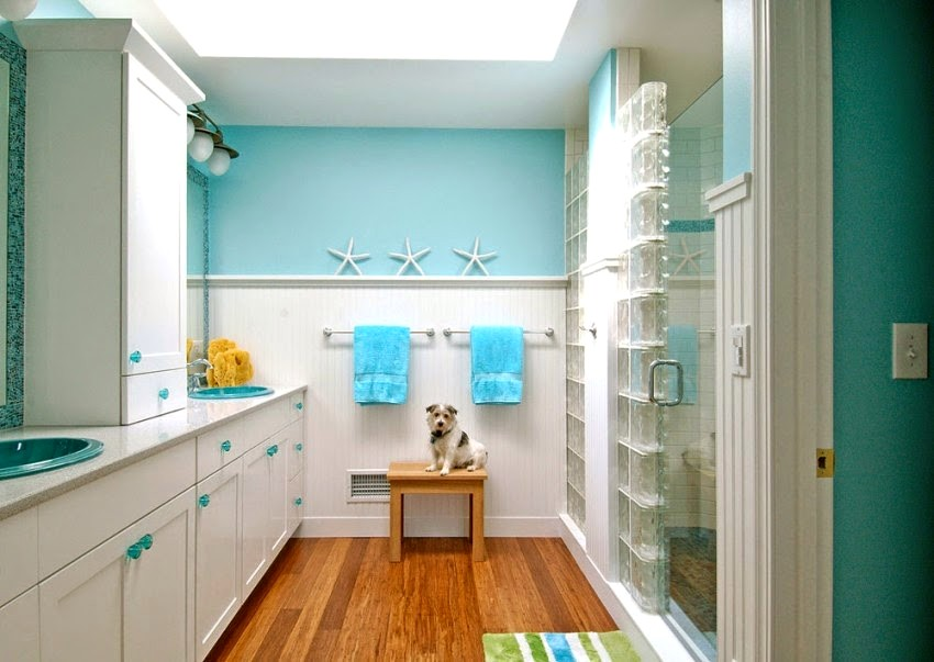 Color To Paint Small Bathroom