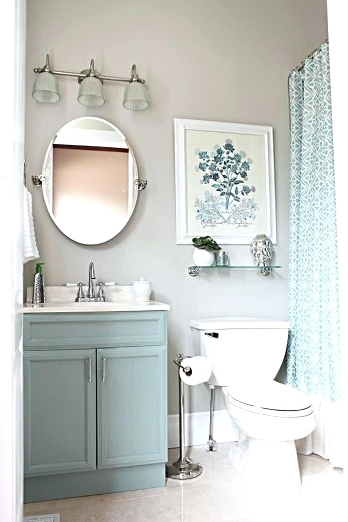 Grey Bathroom Accent Colors