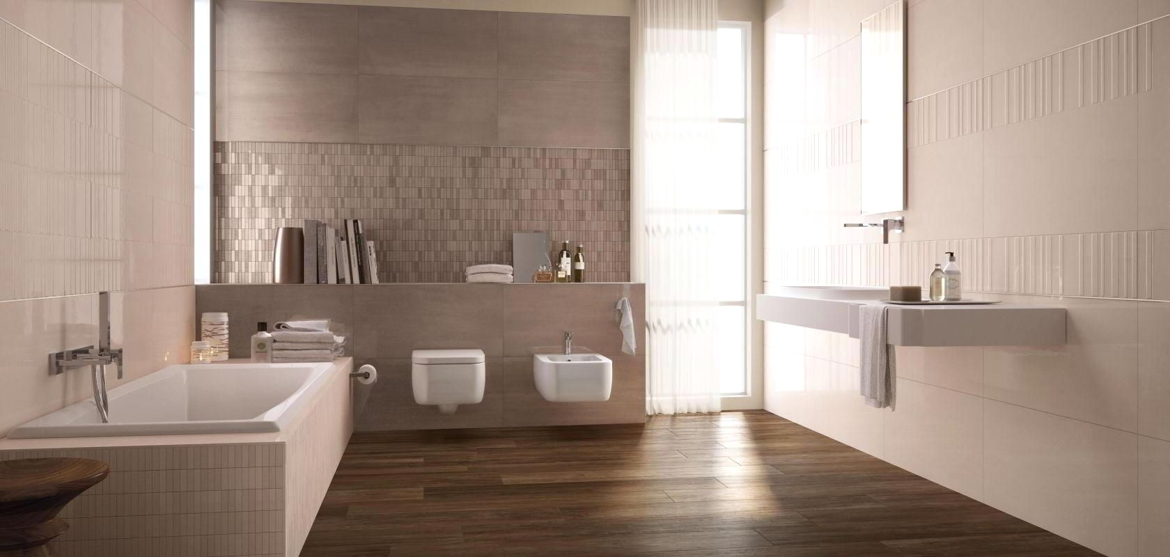 Ivory Color Bathroom Tiles
