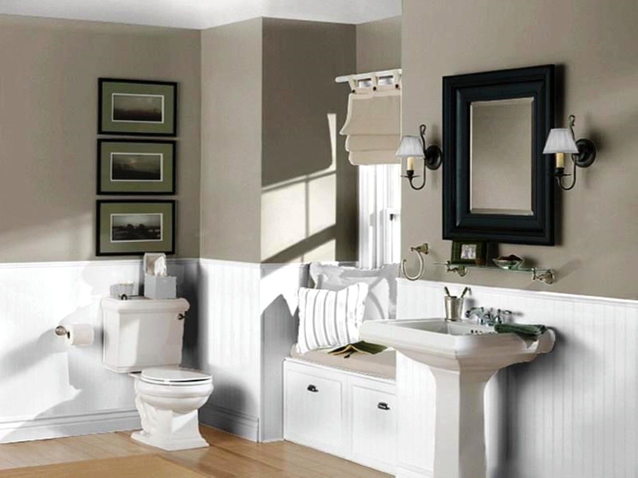 Small Bathroom Color Trends