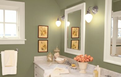 Spa Bathroom Color Ideas