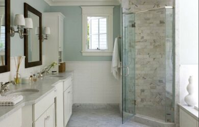 Spa Paint Colors For Bathroom