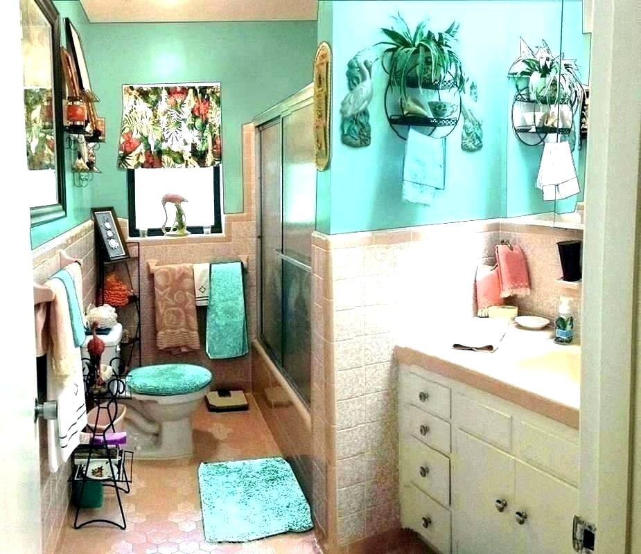 Teal Color Bathroom Sets