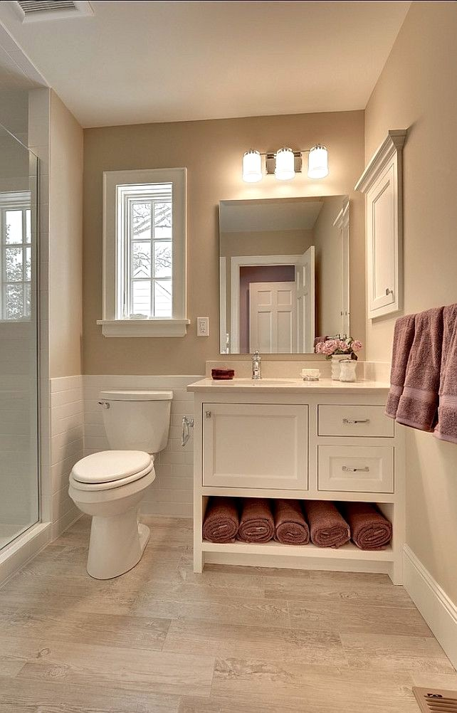 Warm Bathroom Color Ideas