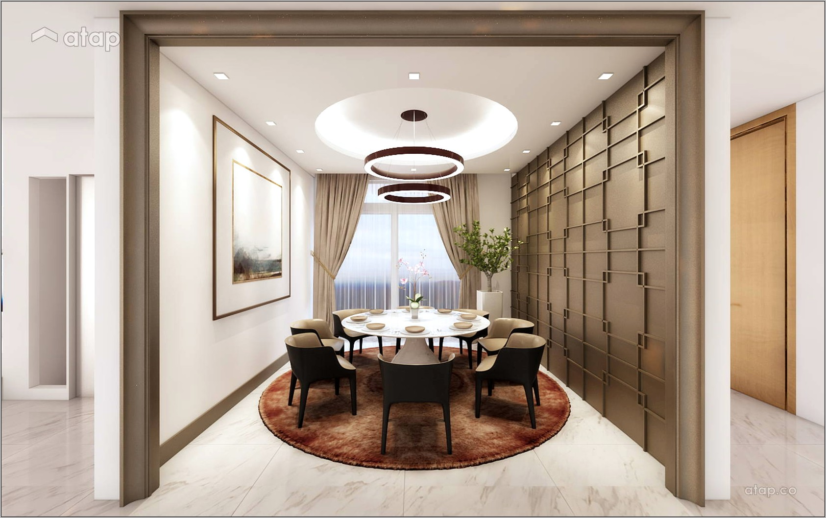 Bungalow Dining Room Ideas