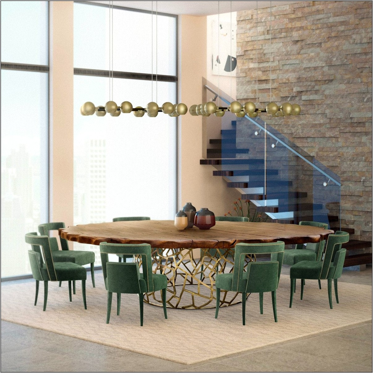Classic Modern Dining Room Ideas