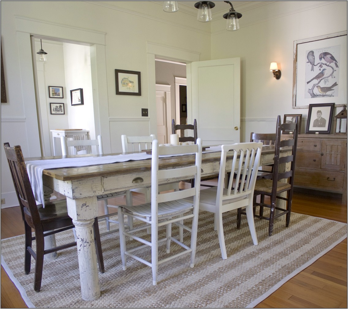 Country Cottage Dining Room Decor