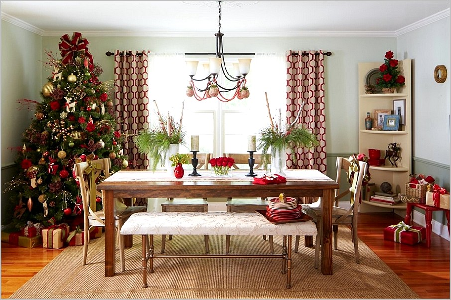 Decorate Dining Room After Christmas