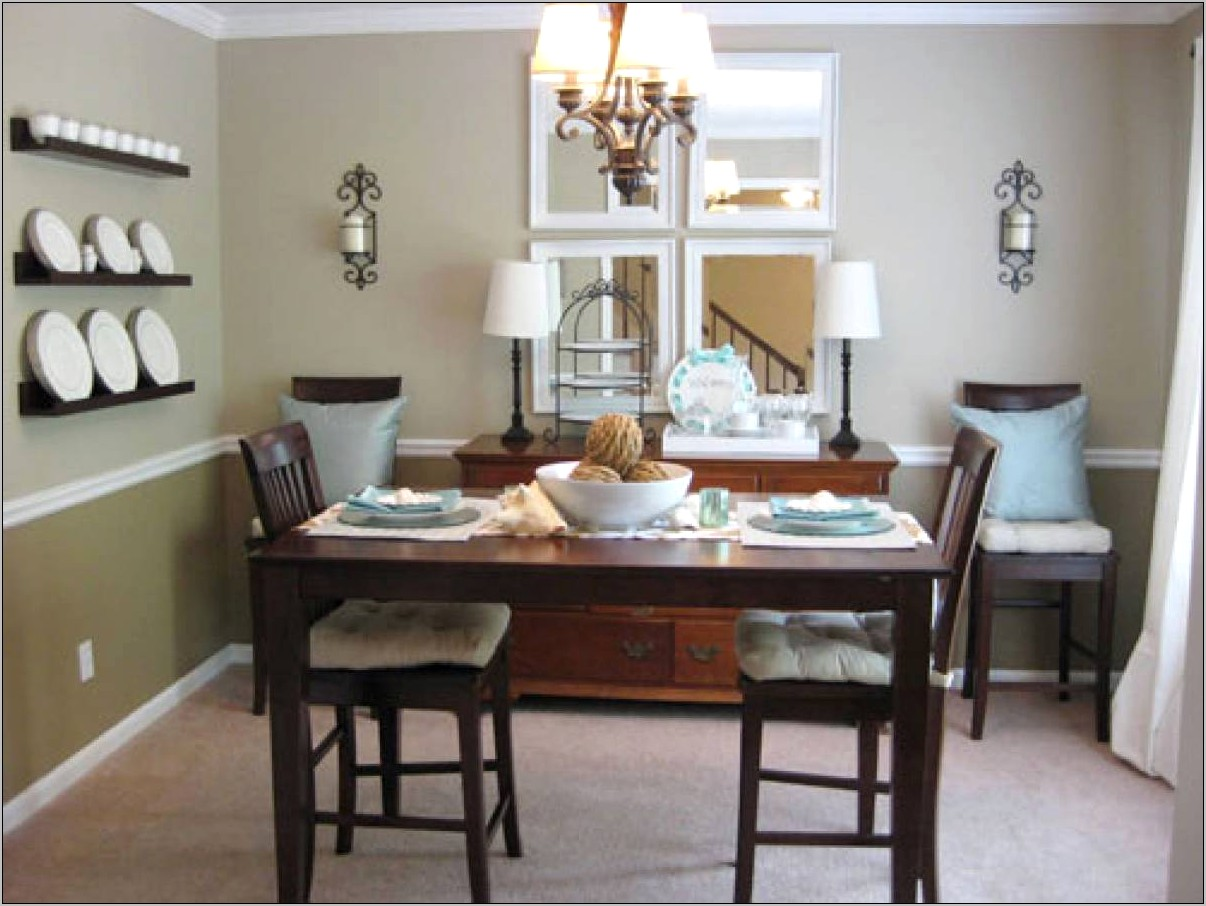 Decorate Small Dining Room No Windows