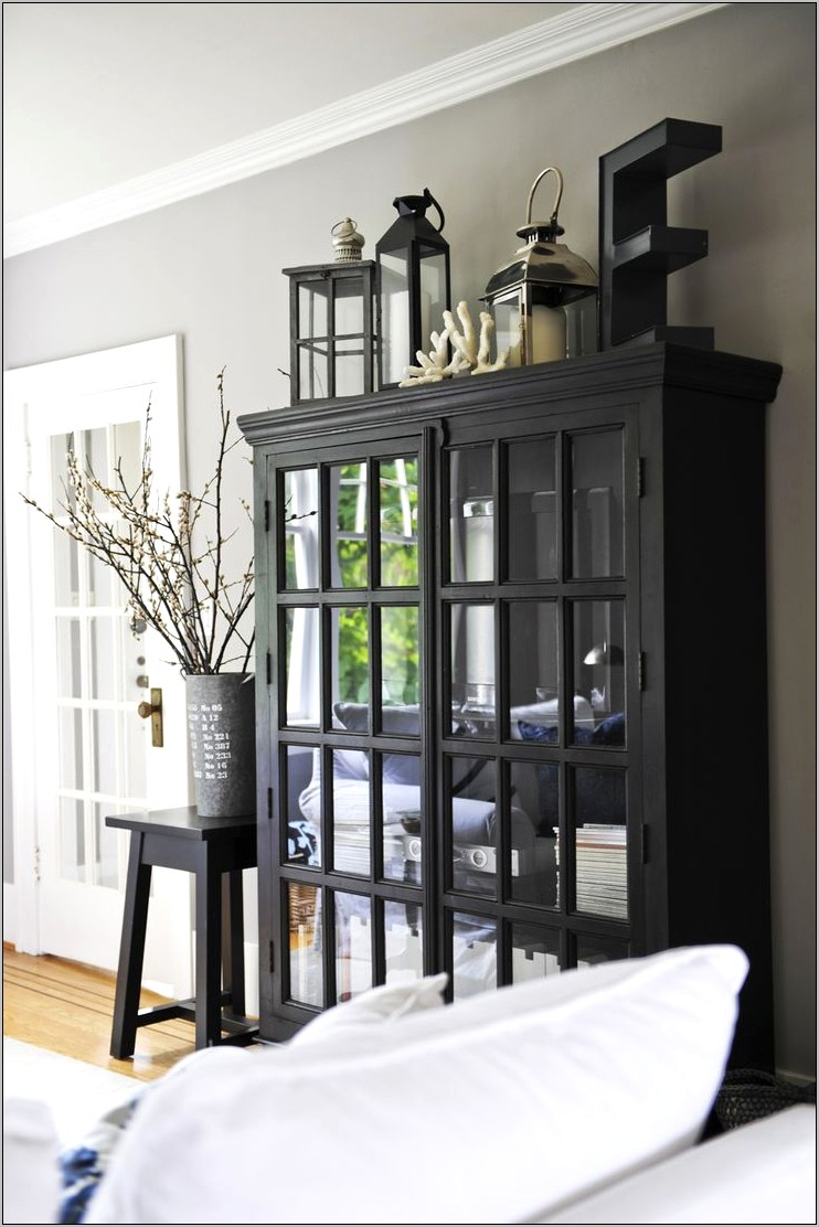 Decorate Top Of Dining Room Armoire