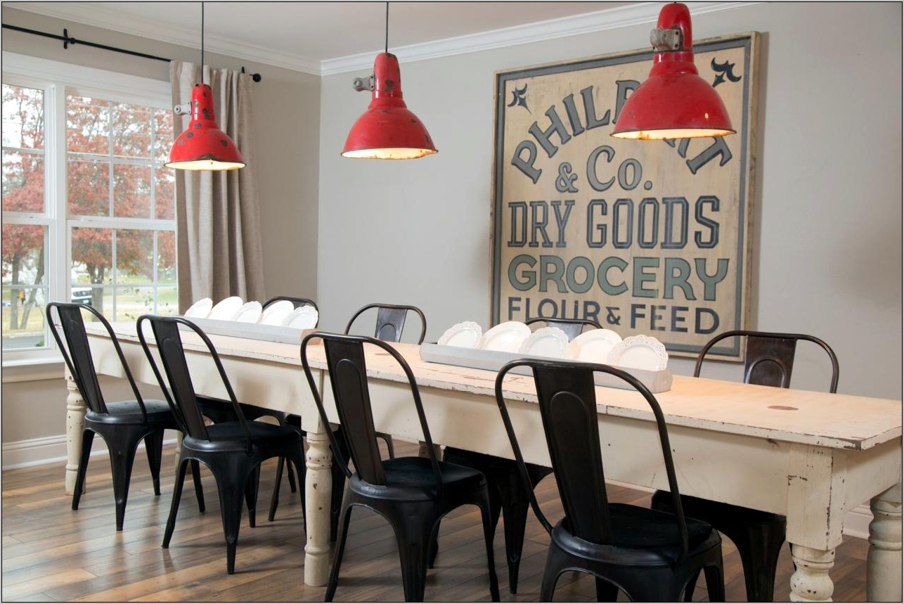 Decorating Alarge Dining Room Wall Modern Farmhouse