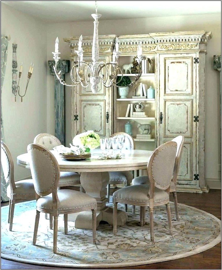 Decorating French Country Dining Room