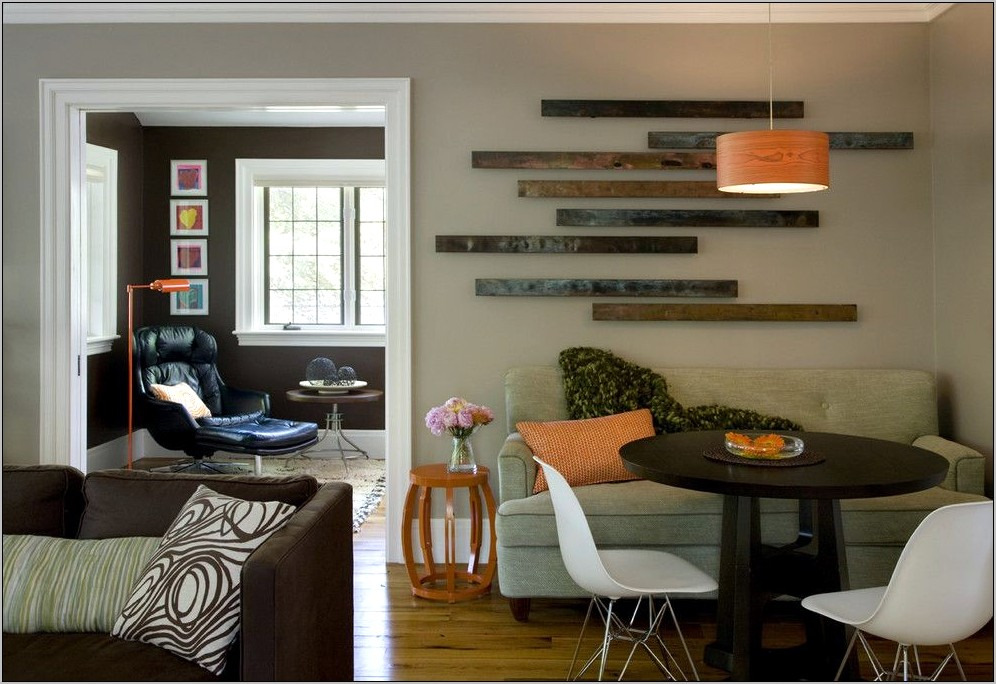 Decorating Large Wall In Dining Room