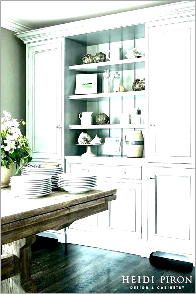 Decorating Top Of Dining Room Hutch