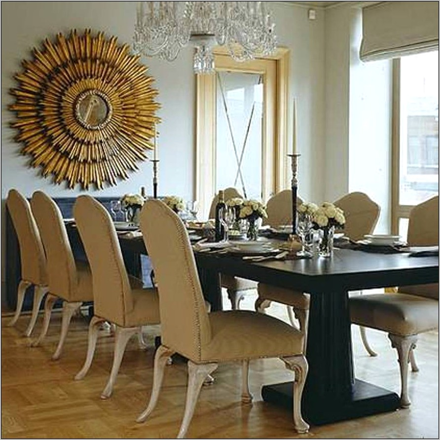 Decorating With Large Mirrors Dining Room