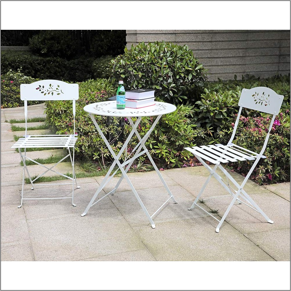 Decorative Metal Folding Dining Room Chairs