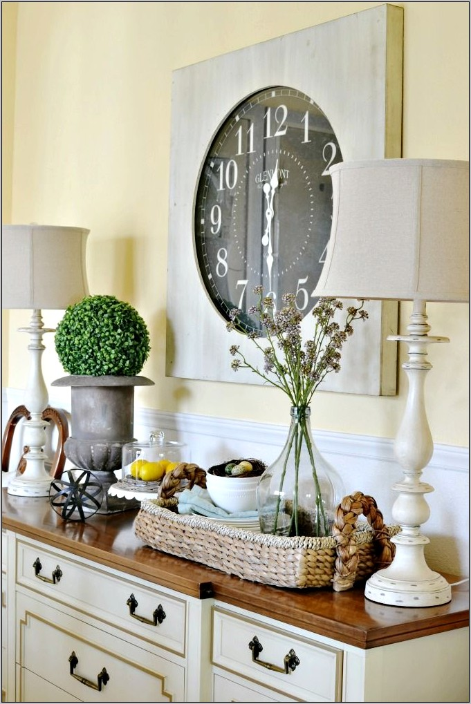 Dining Room Buffet Wall Decor