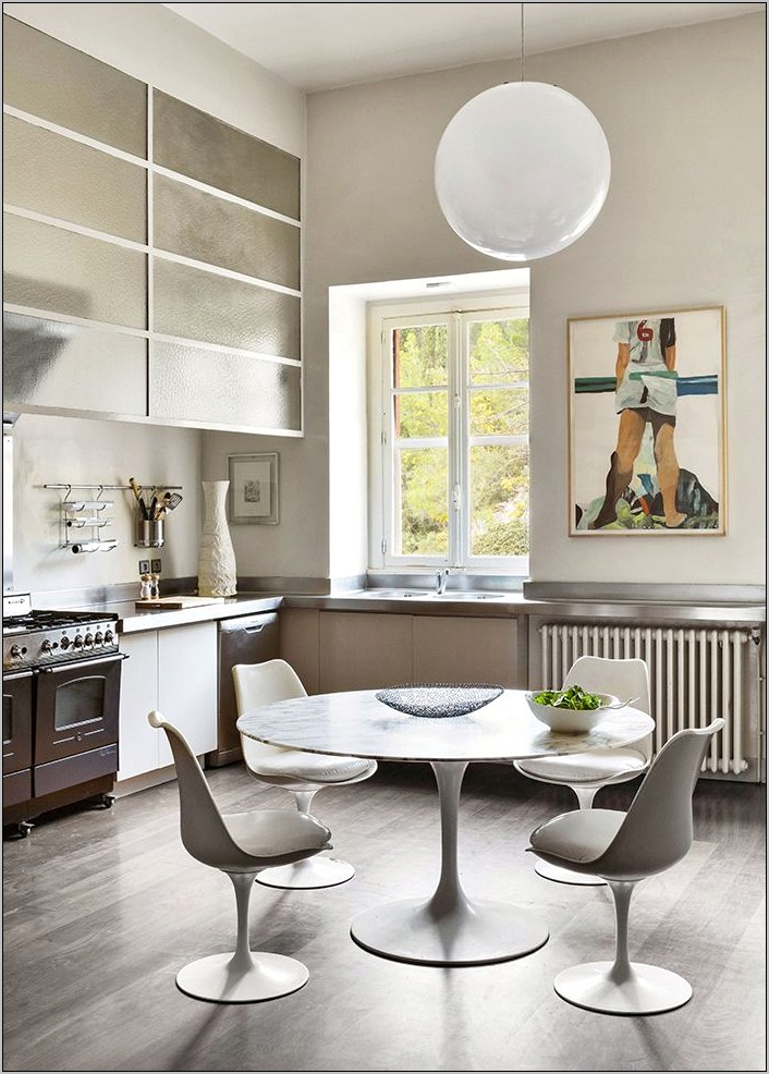 Dining Room Decoration Modern White Seats