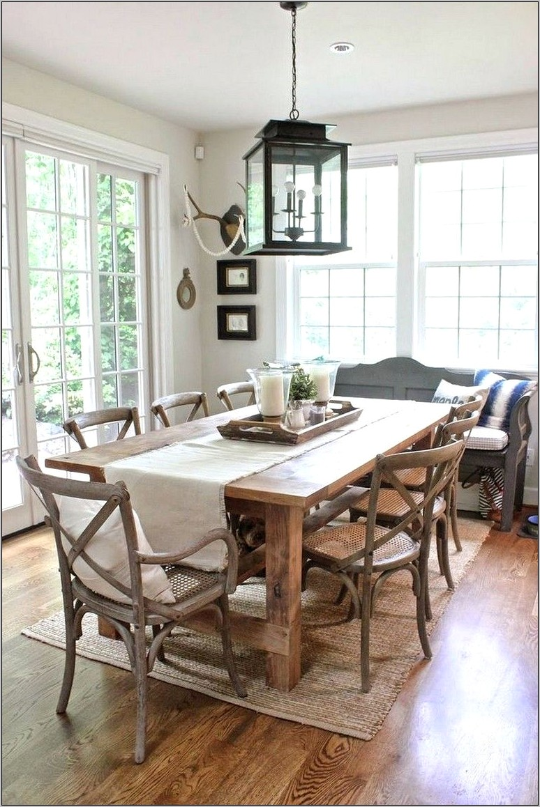 Dining Room Table And Decor