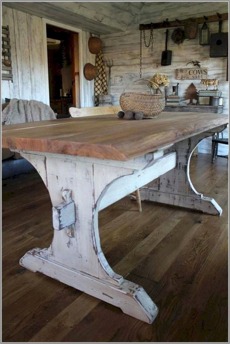 Dining Room Table Top Ideas Rustic