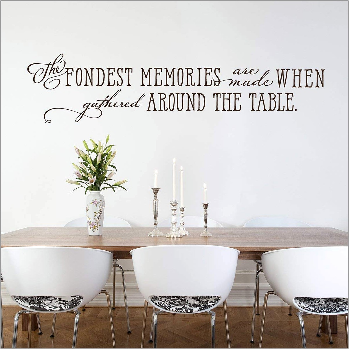 Dining Room Wall Decor Decal