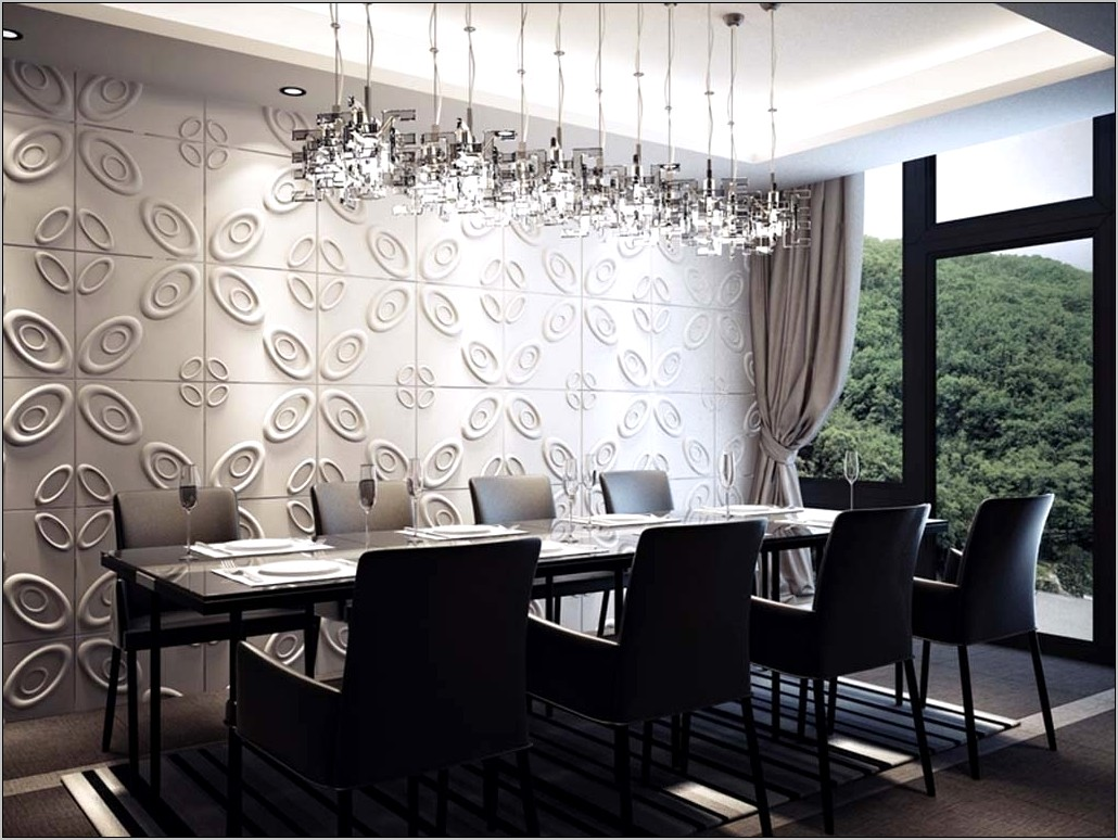Dining Room Wallpaper Feature Wall Ideas