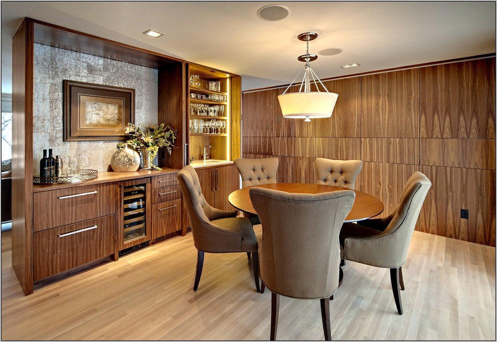 Dining Room With Coffee Bar Ideas