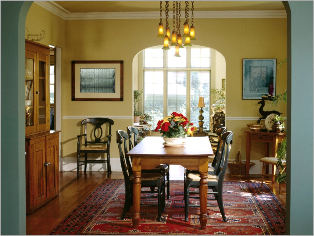 English Country Dining Room Ideas