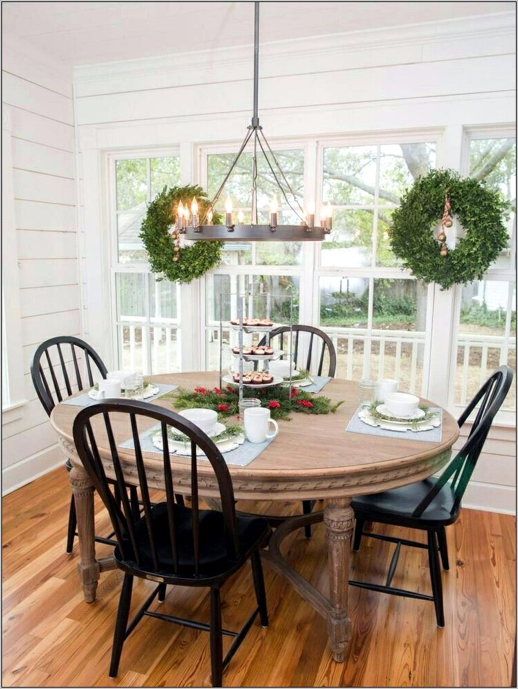 Fixer Upper Dining Room Table Decor