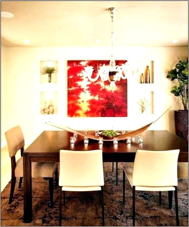 Formal Dining Room Feature Wall Ideas