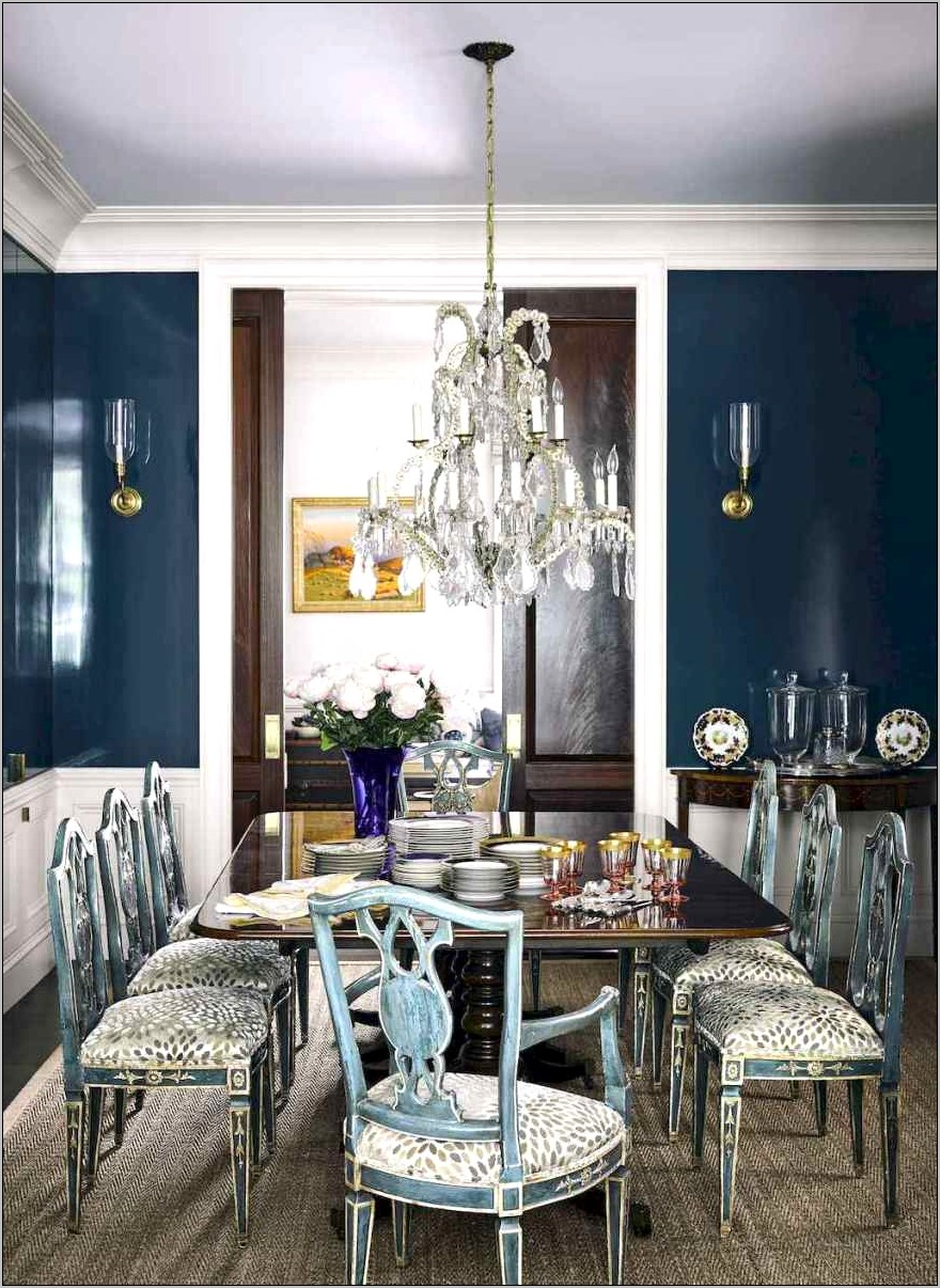 French Decor Dining Room