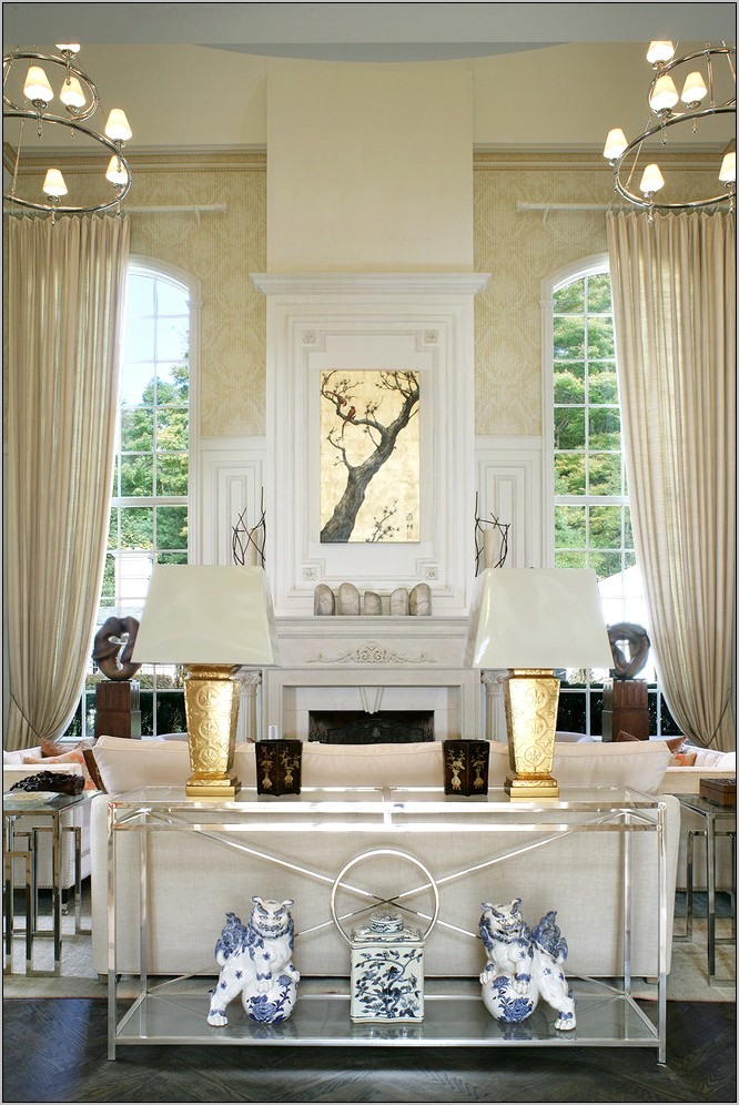 Gold And Silver Dining Room Decor
