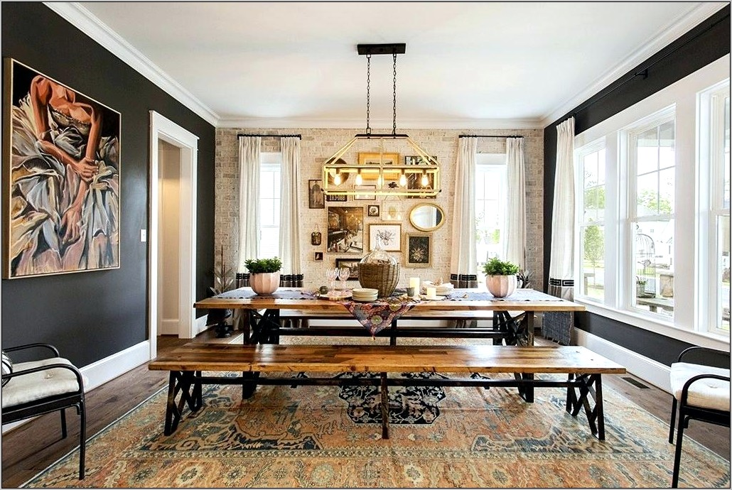 Green And Brown Dining Room Ideas