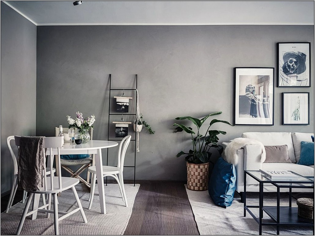Grey And White Dining Room Ideas