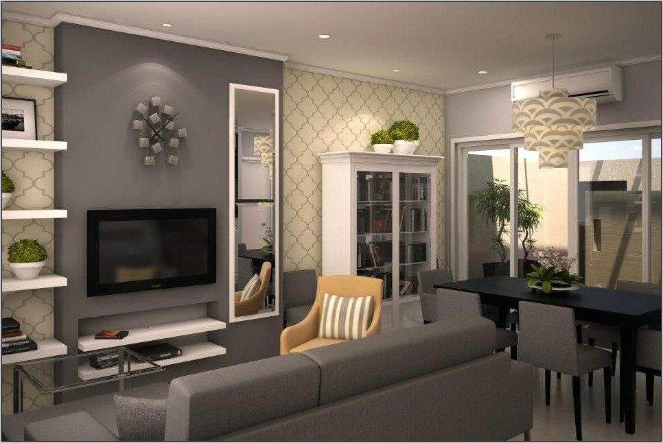Grey And Yellow Dining Room Ideas