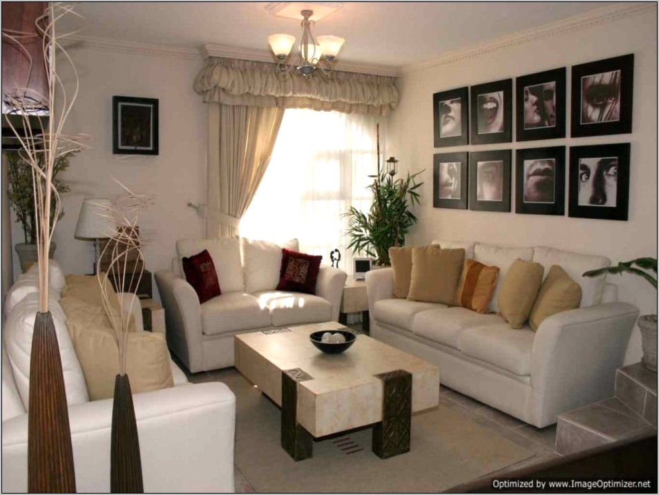 Home Decoration Living Room Dining Combo