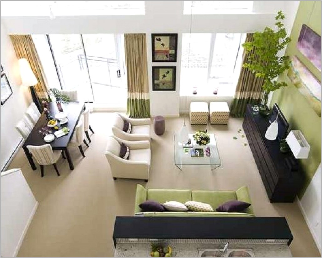 Ideas For Combination Living Room Dining Room