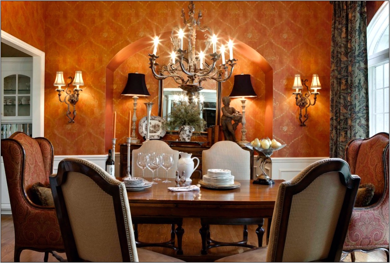 Ideas For Decorating A Large Dining Room