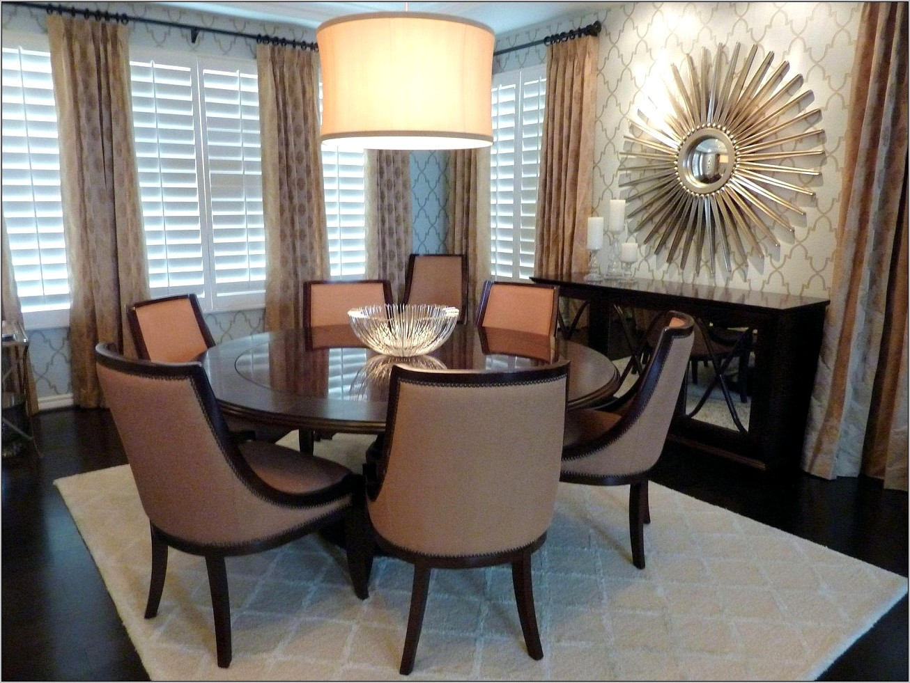 Ideas For Decorating Formal Dining Room Table