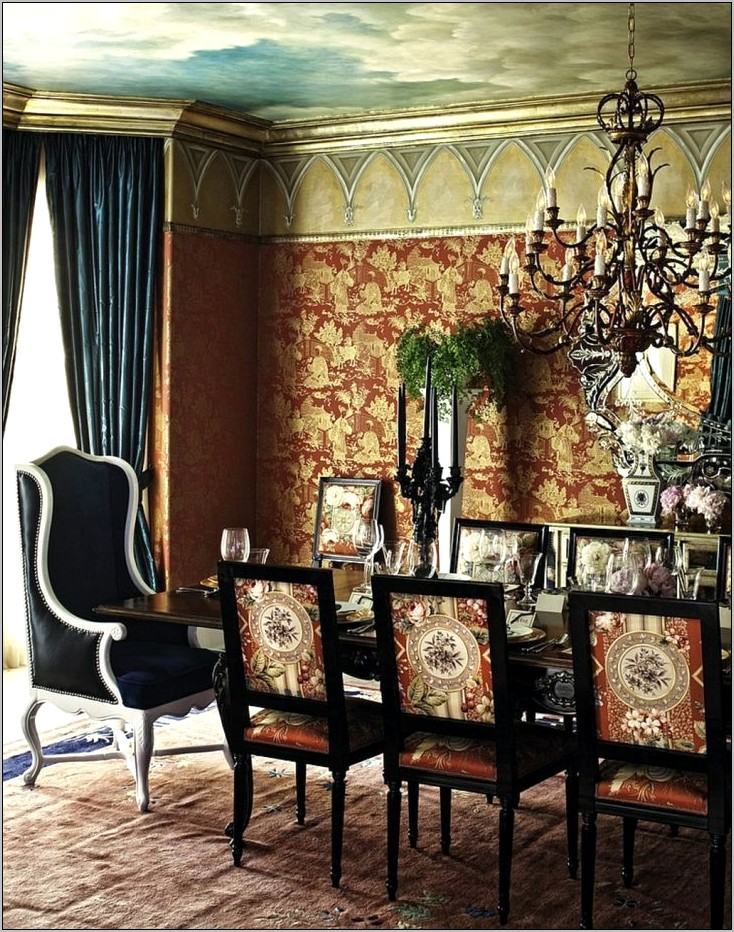 Ideas For Green Dining Rooms
