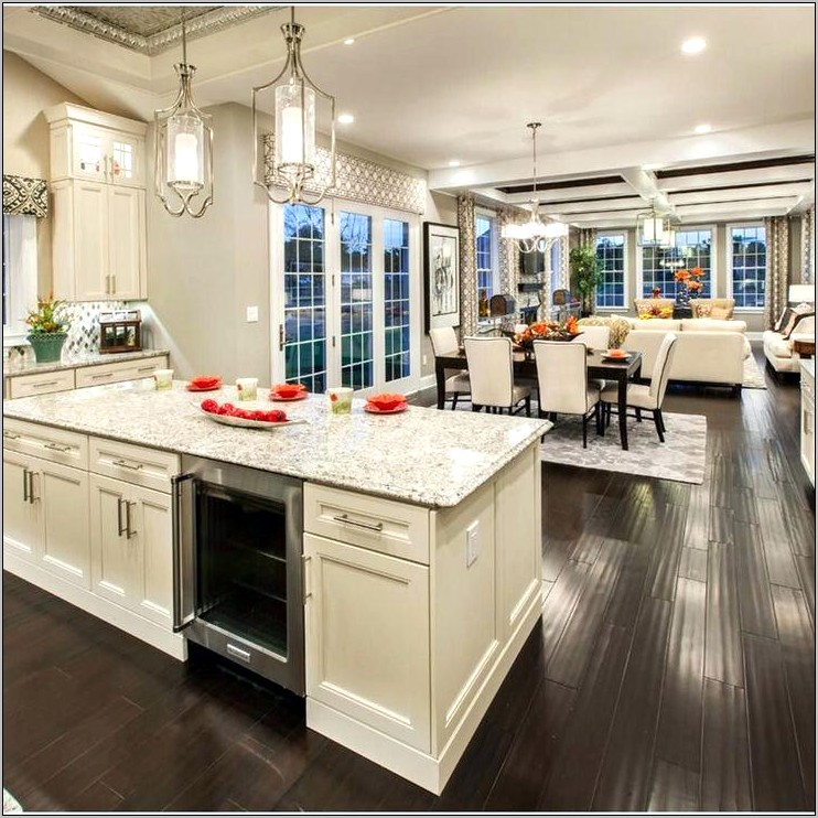 Ideas For Open Kitchen And Dining Room