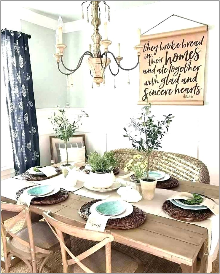 Images Of Farmhouse Dining Room Decor