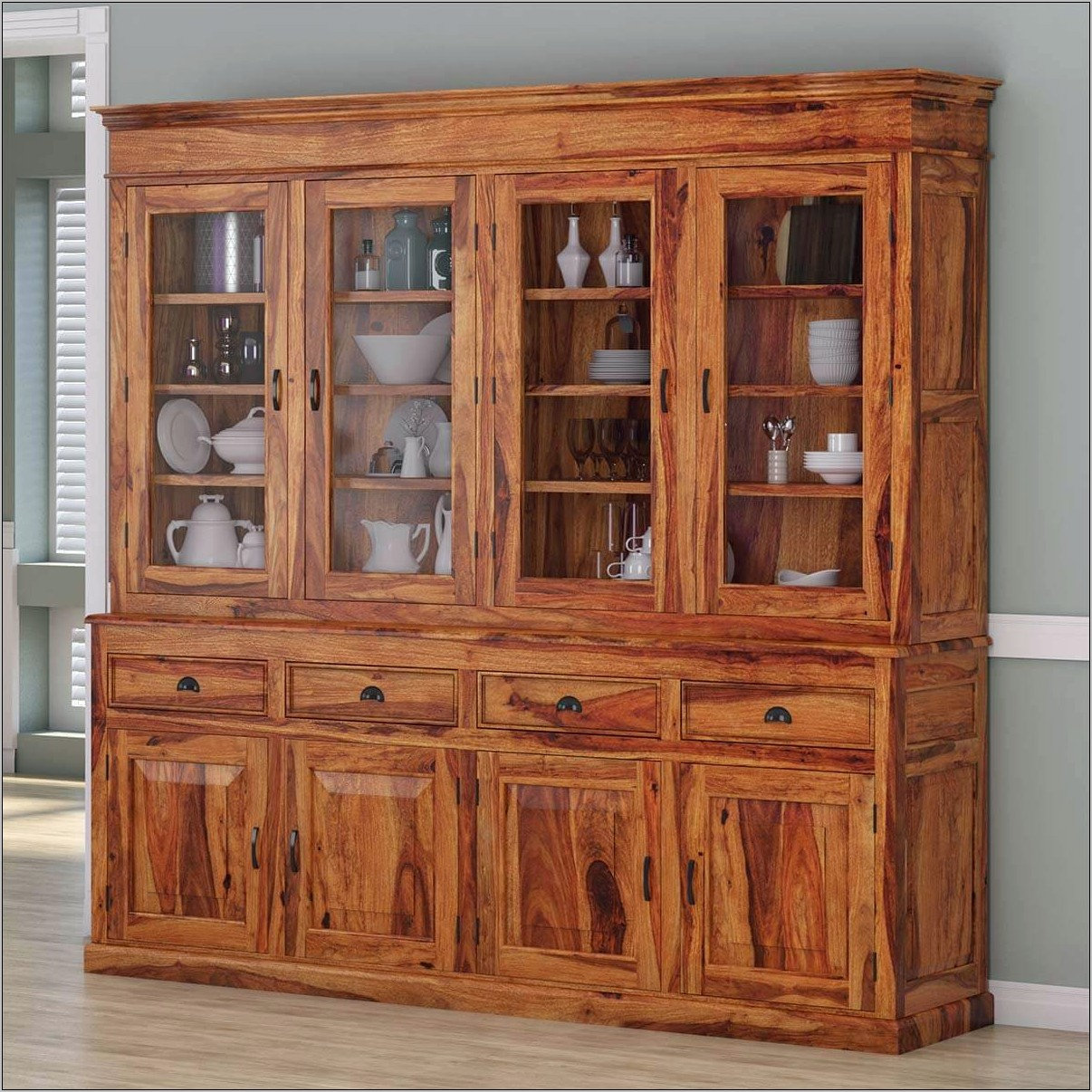 Large Dining Room Hutch Ideas