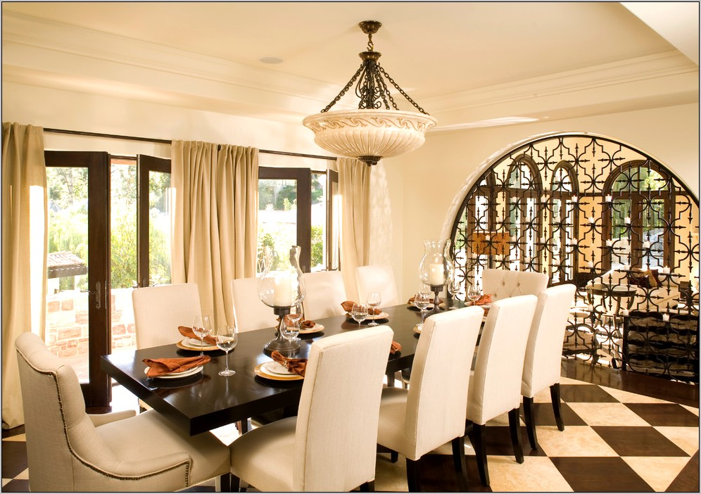 Mediterranean Dining Room Decor