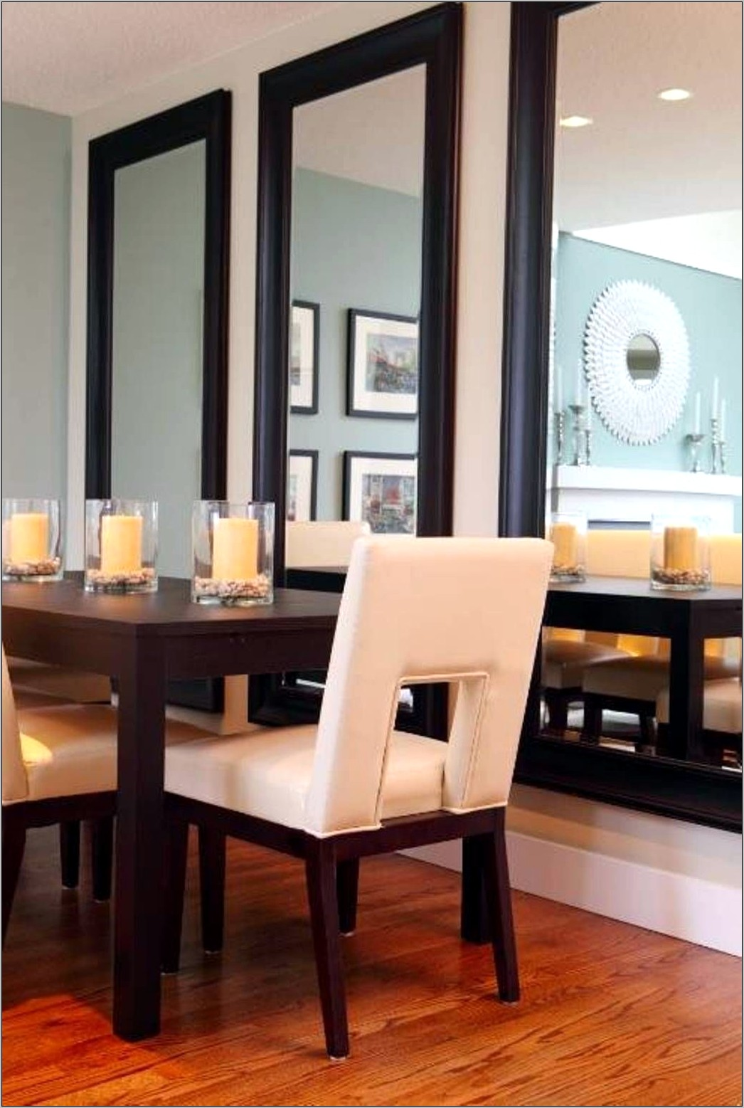 Mirror Wall Decor Dining Room