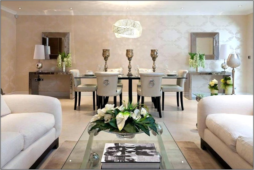 Modern Decor For Dining Room Table