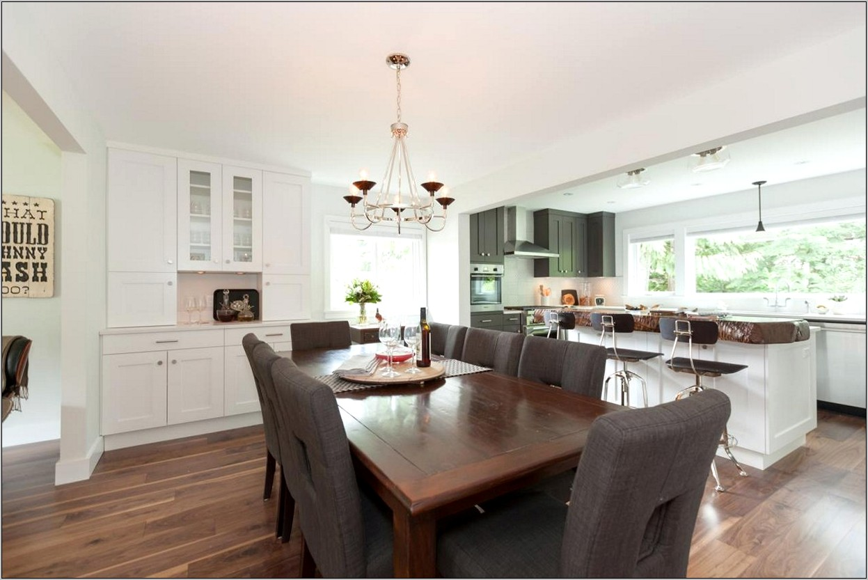 Open Concept Living And Dining Room Ideas