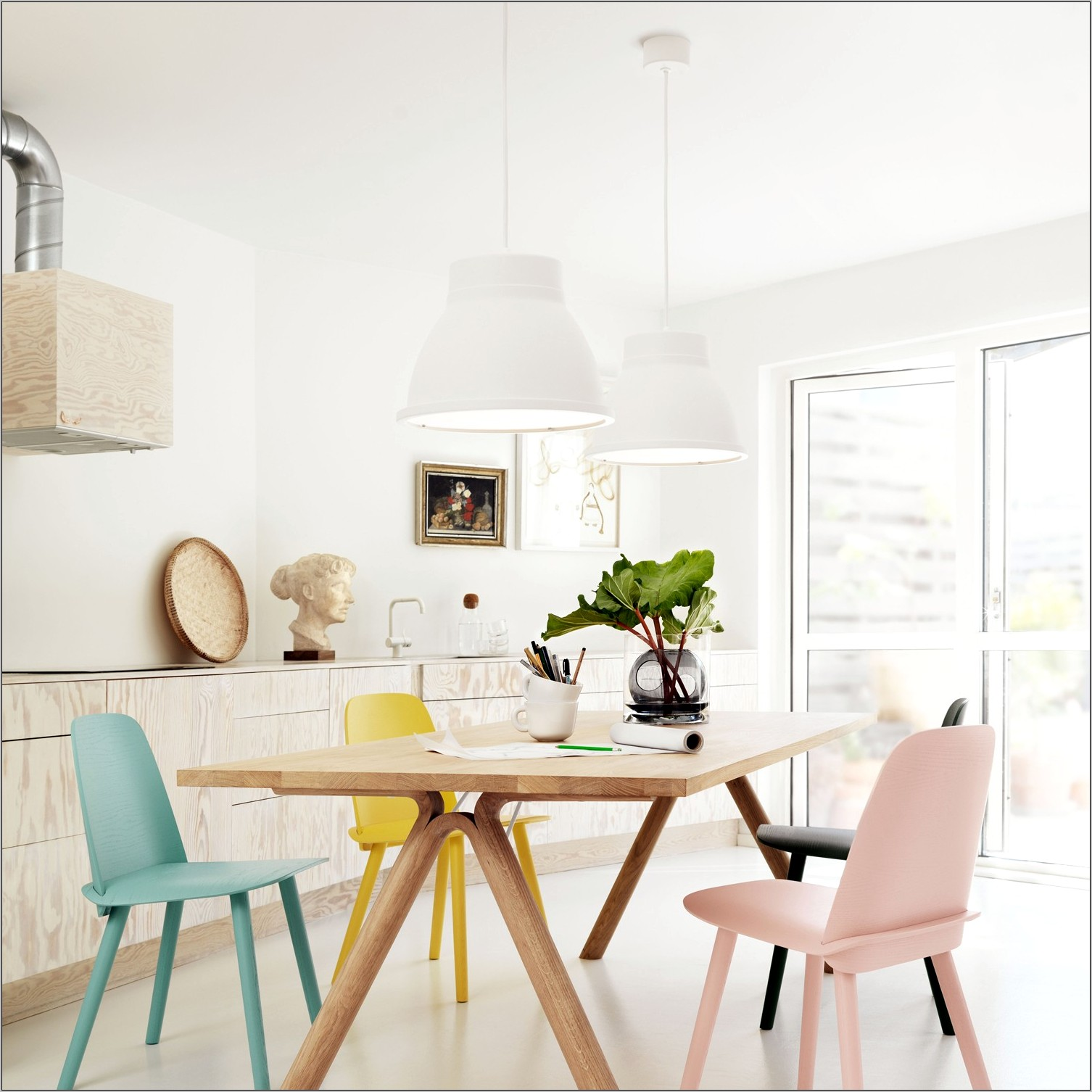 Pastel Dining Room Ideas
