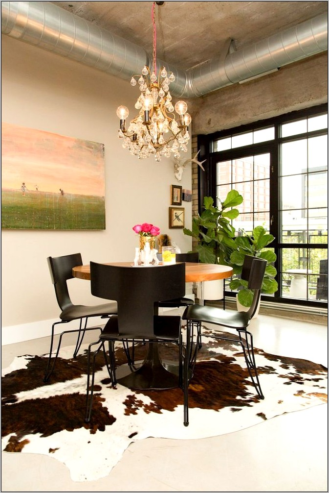 Pink Wall Dining Room Ideas
